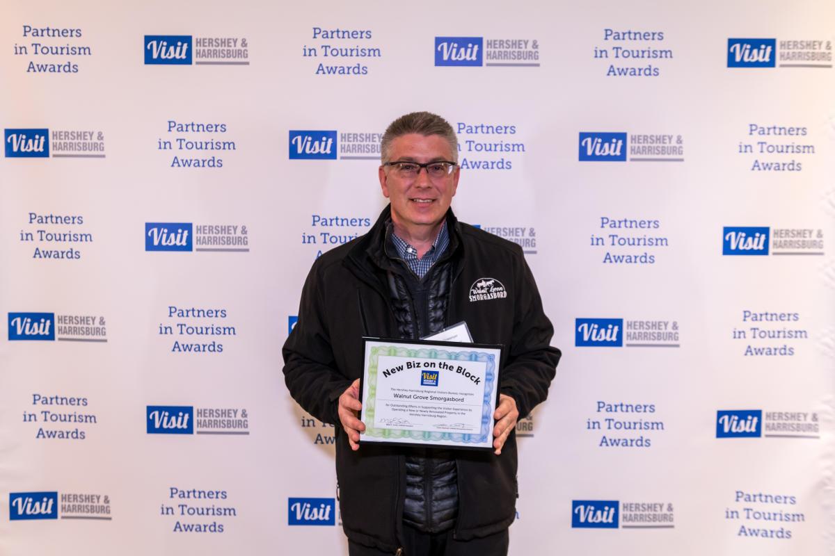 Tourism Awards 2016 - New Business Certificate - Walnut Grove Smorgasbord