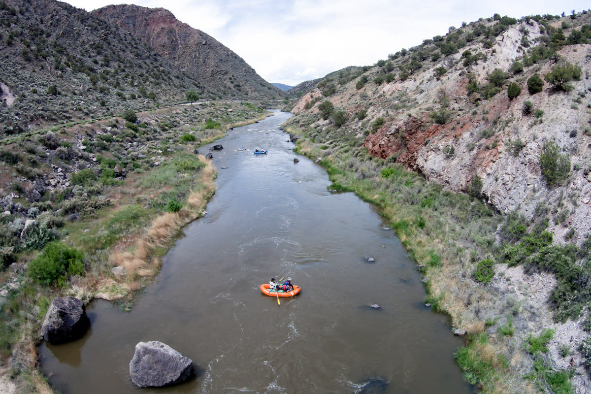 La Junta Trail at Wild Rivers Recreation Area