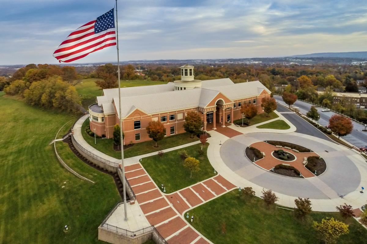 Museum - National Civil War Museum in Harrisburg -Exterior-Aerial