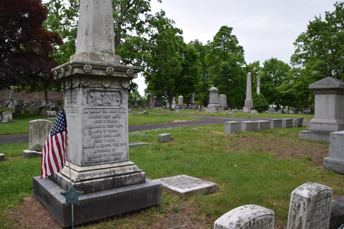 Doylestown Historic Cemetery Grave Site