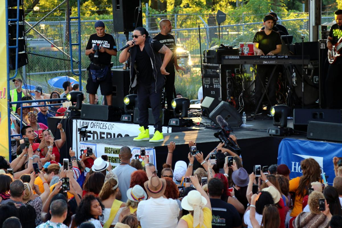 Stage and Crowd Latin Fest