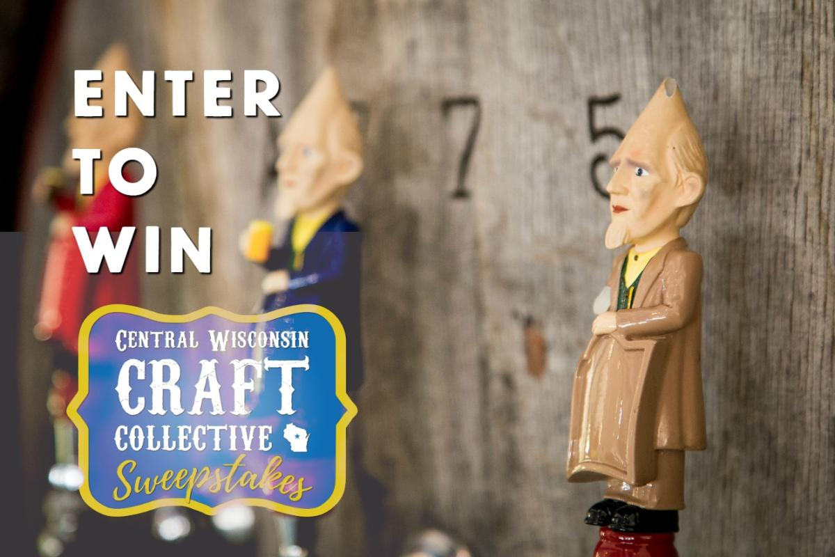 Enter to win the Central Wisconsin Craft Collective Sweepstakes