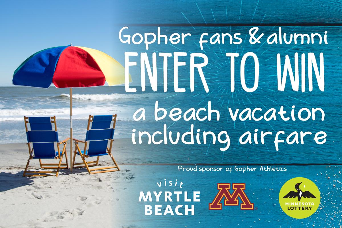 Gopher Fans Enter to Win