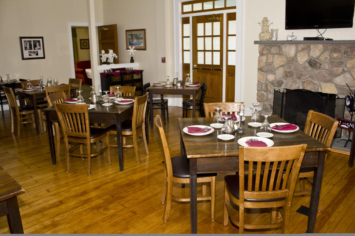 Woodside Lodge Dining Room