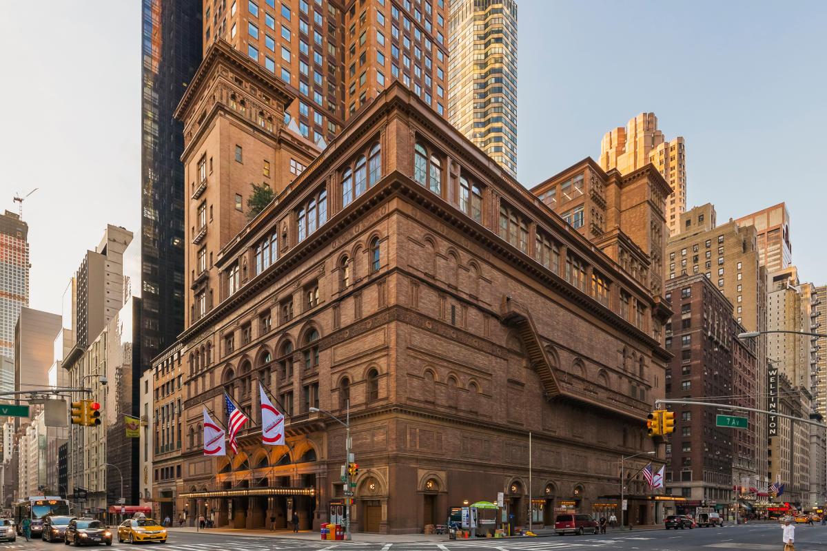 Carnegie Hall. Photo by Jeff Goldberg/Esto