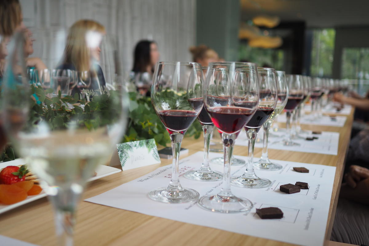 Chocolate and Wine Pairing at ZINC, Epicure