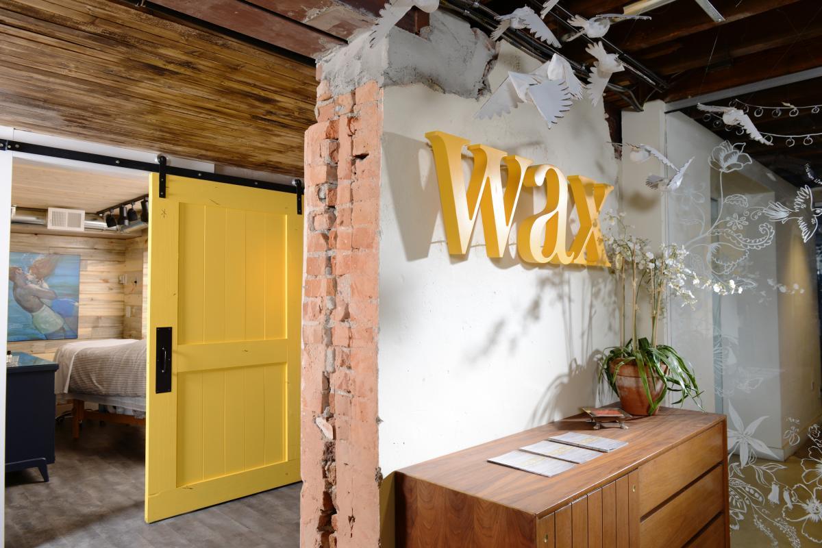 Wax + Lash in Denver's Larimer Square