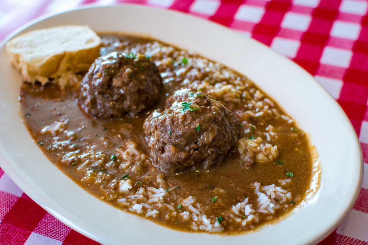 The Cajun Table Rice and Gravy