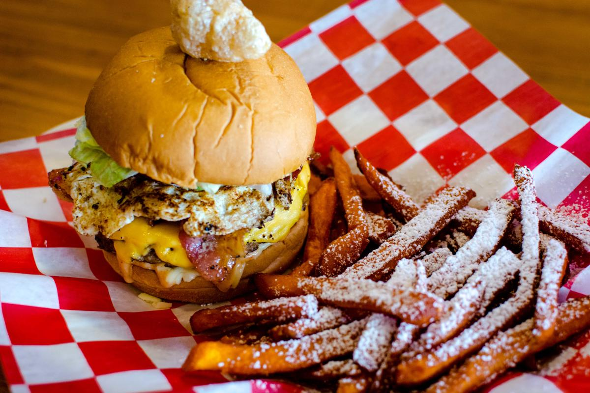 The Cajun Table Burger