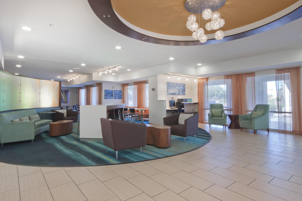 SpringHill Suites Lobby