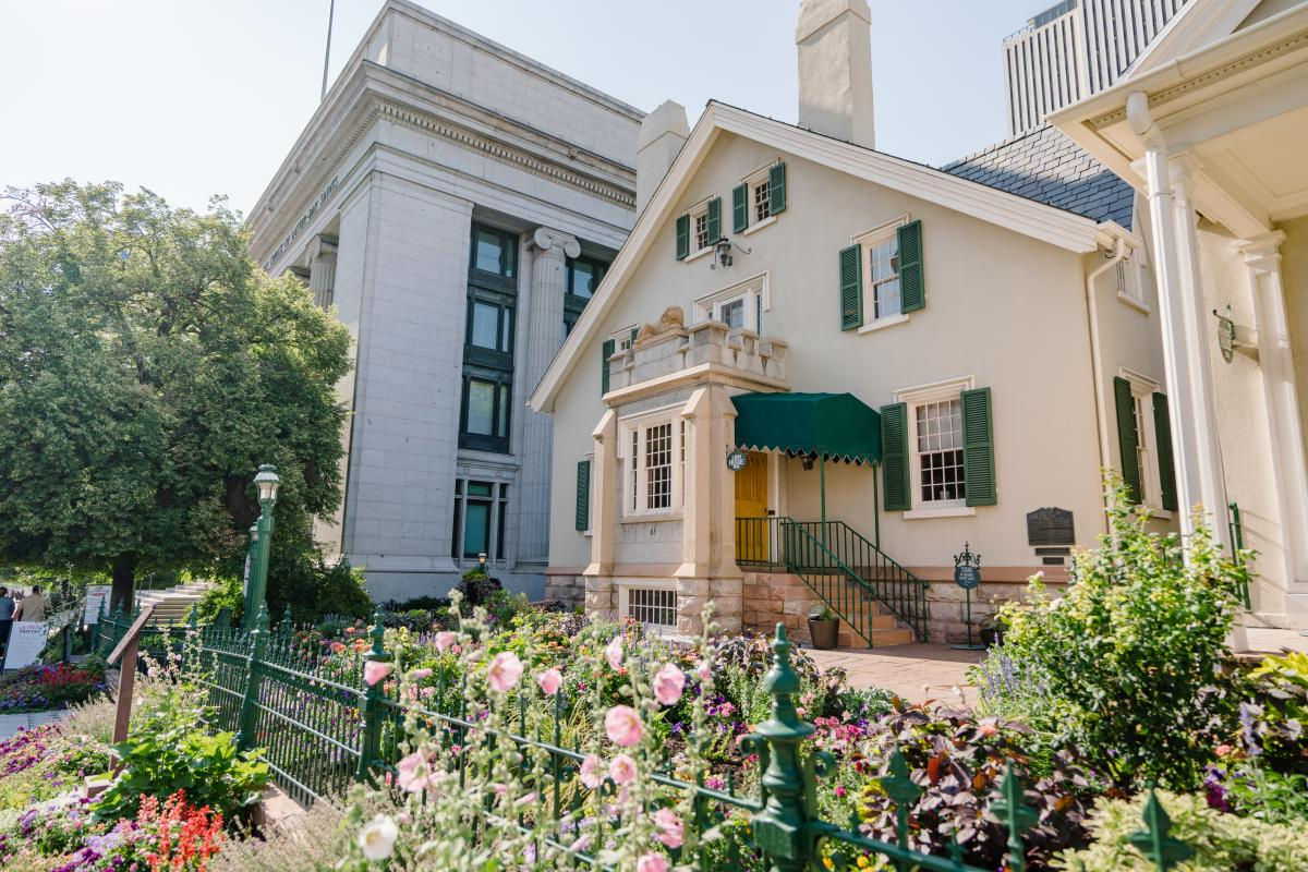 Brigham Young's Residence on South Temple