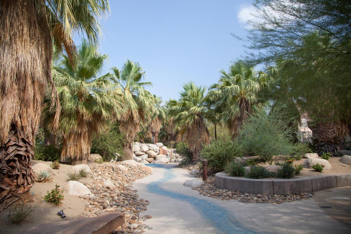 Palm Springs Art Museum in Palm Desert Faye Sarkowsky Sculpture Garden