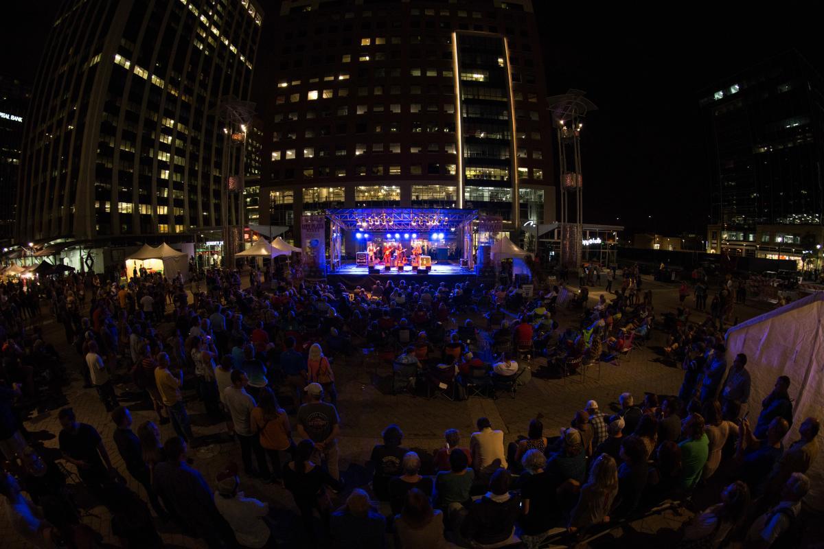 Bluegrass IBMA City Plaza