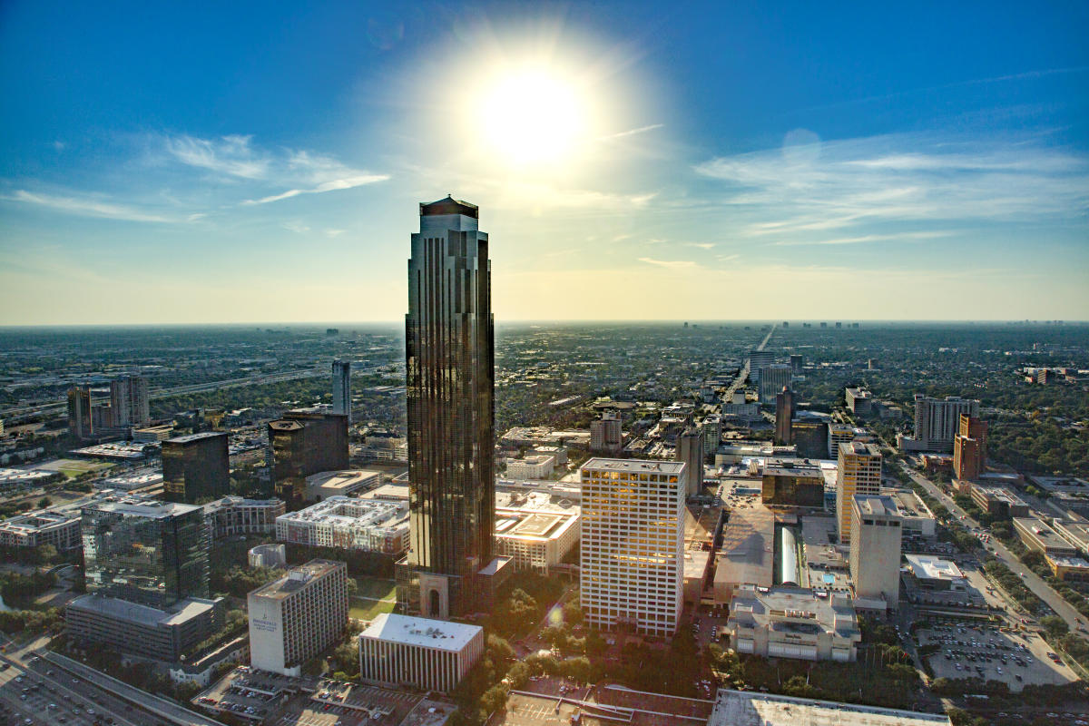 Houston Texas Galleria Skyline