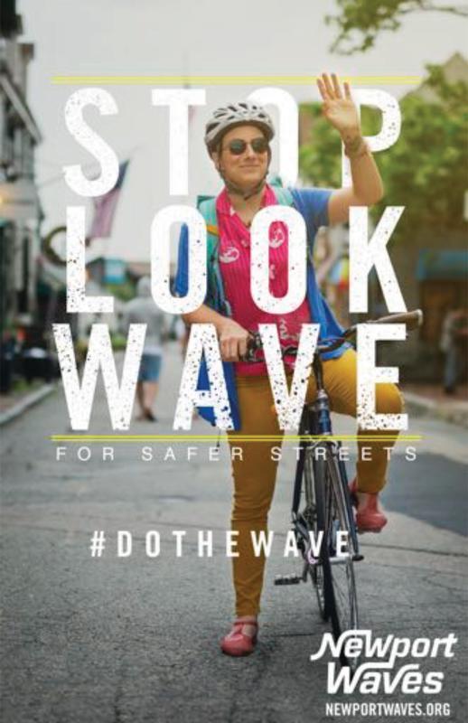 Newport Waves Poster