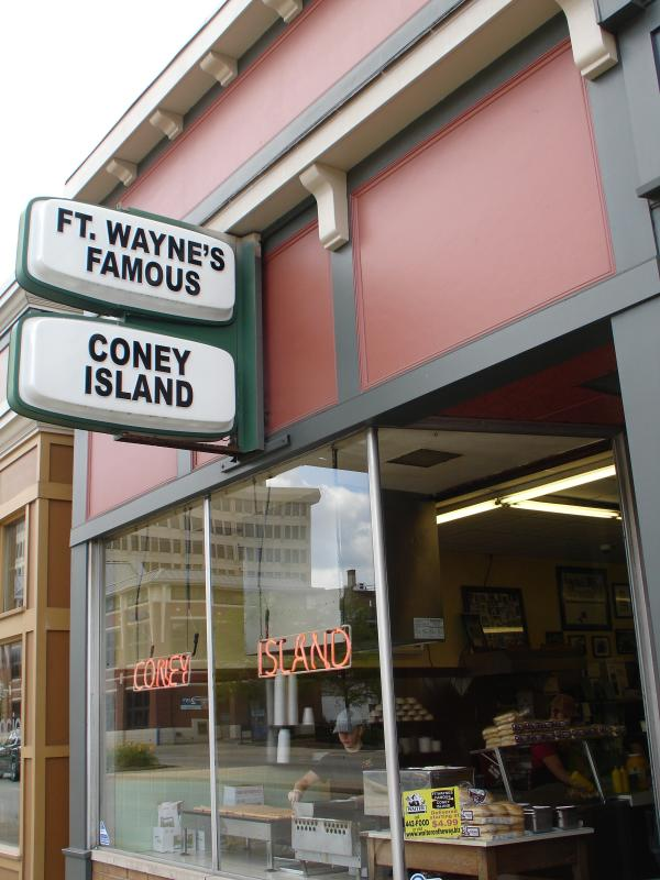 Fort Wayne's Famous Coney Island Weiner Stand