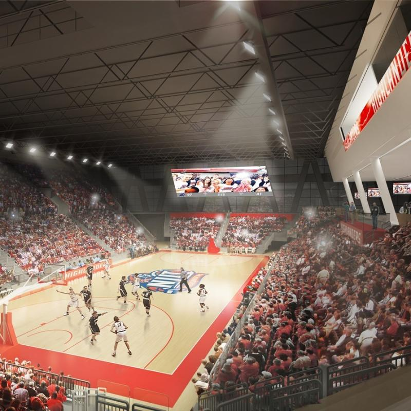 The New Jersey Institute Of Technology NJIT Highlanders Basketball Team Is Expected To Tip Off In Its Brand Arena This Coming Fall