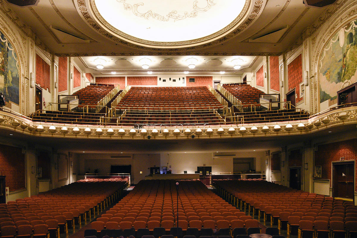 The Palace Theatre Interior