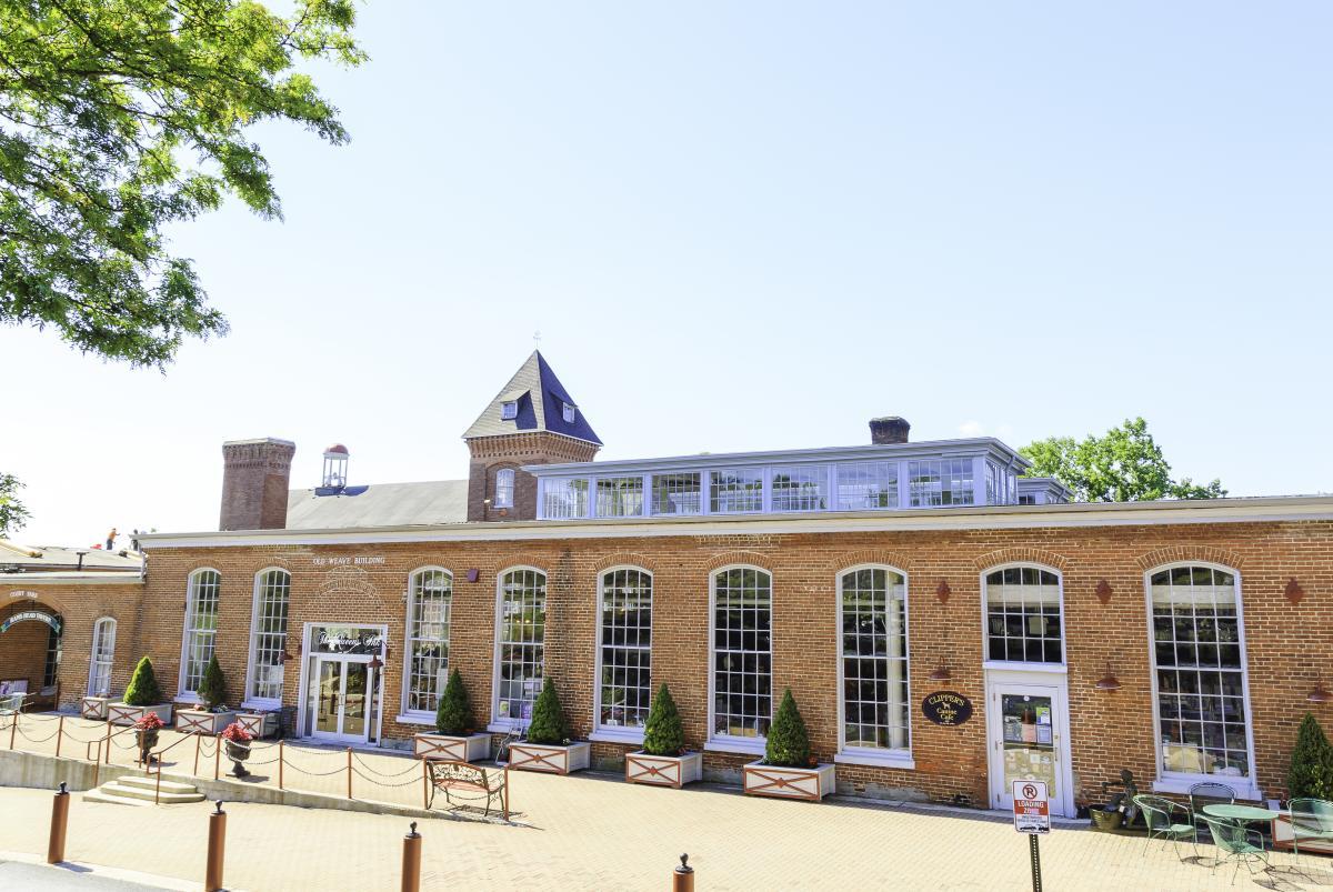 Exterior photo of Historic Savage Mill