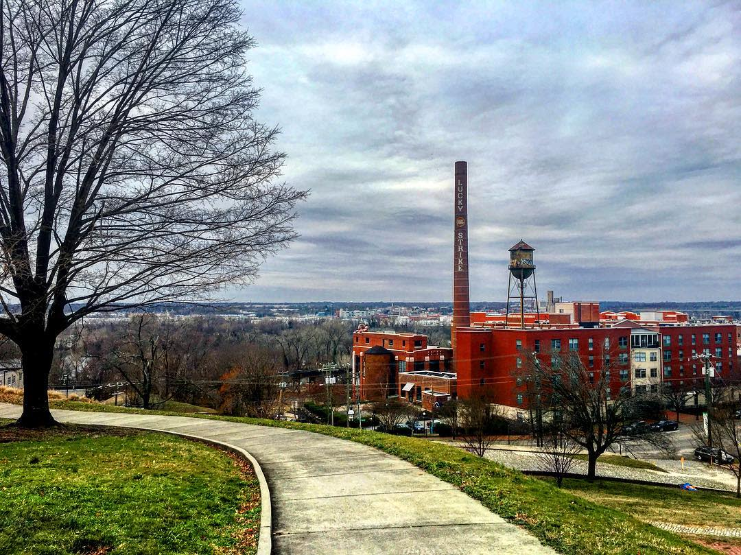 Libby Hill winter image by Mary Kusek