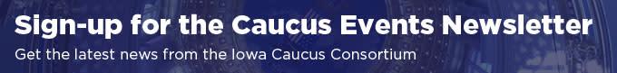 CaucusEventsNewsletterSignup