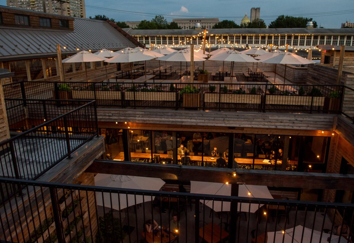Millworks Outdoor Dining Area