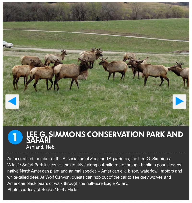 10Best - Wildlife Safari Park
