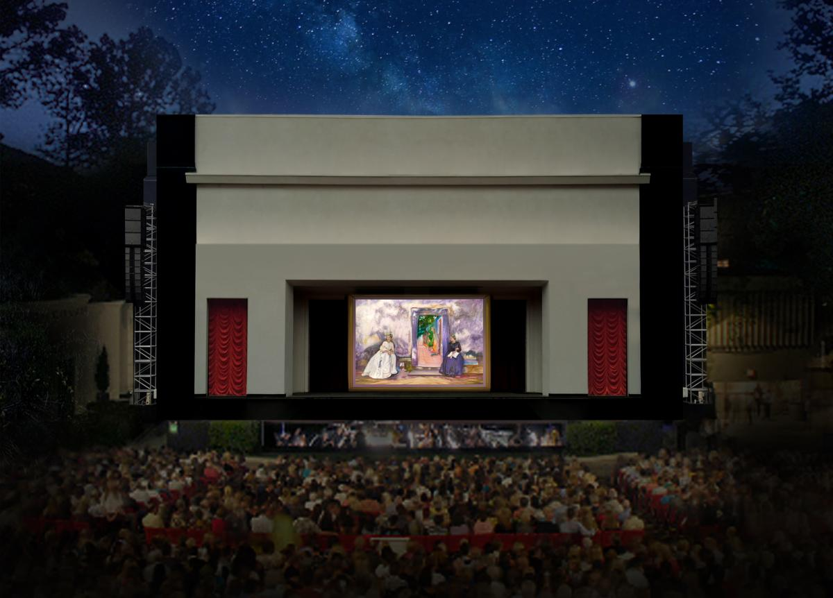Pageant of the Masters Stage
