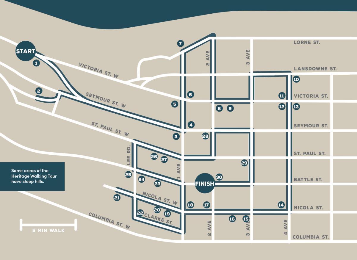 Heritage Walking Tour Map