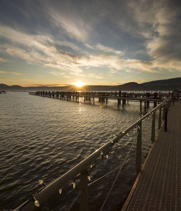Sunset at Manteo Resort