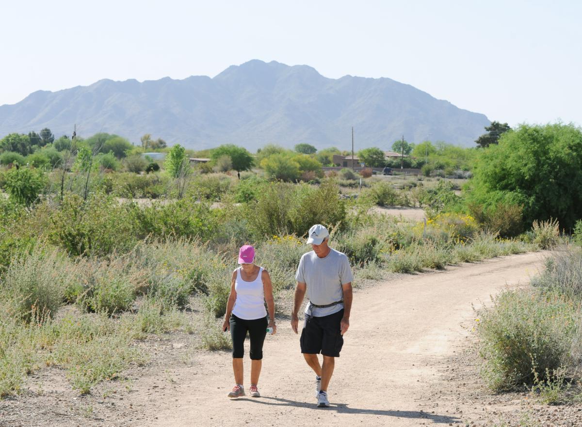 Desert Walk at Veterans Oasis Park