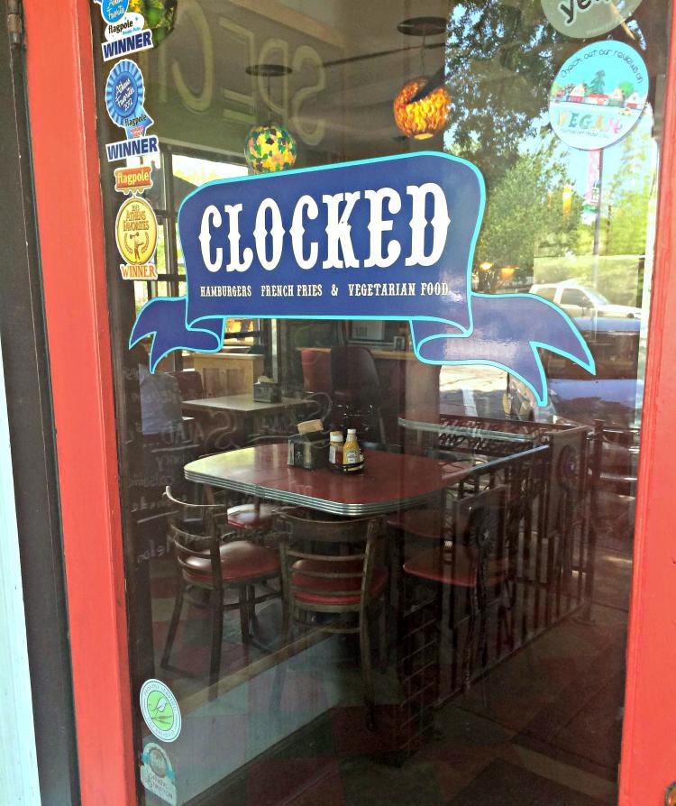 clocked-diner-entrance