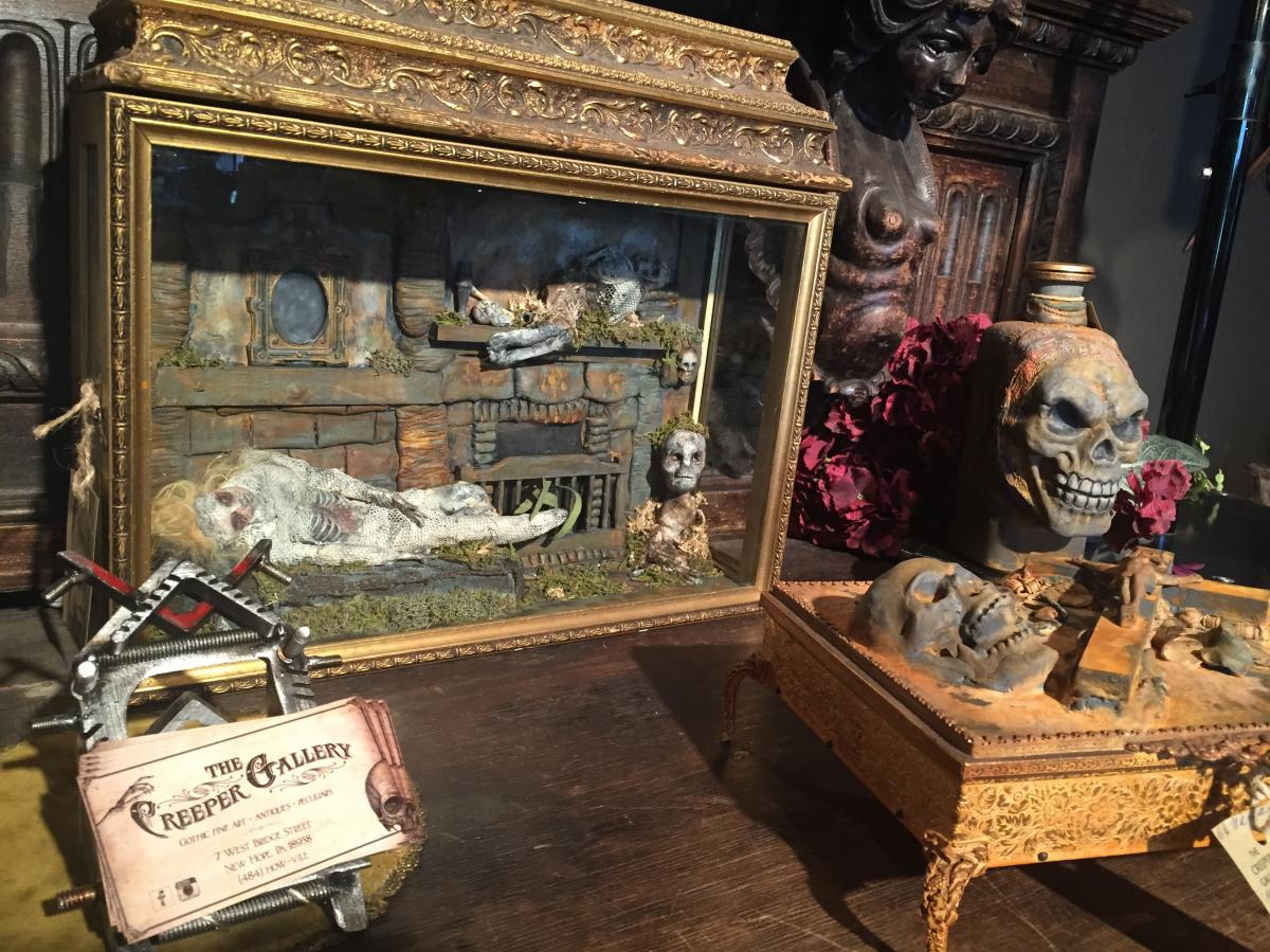 Creeper Gallery display case