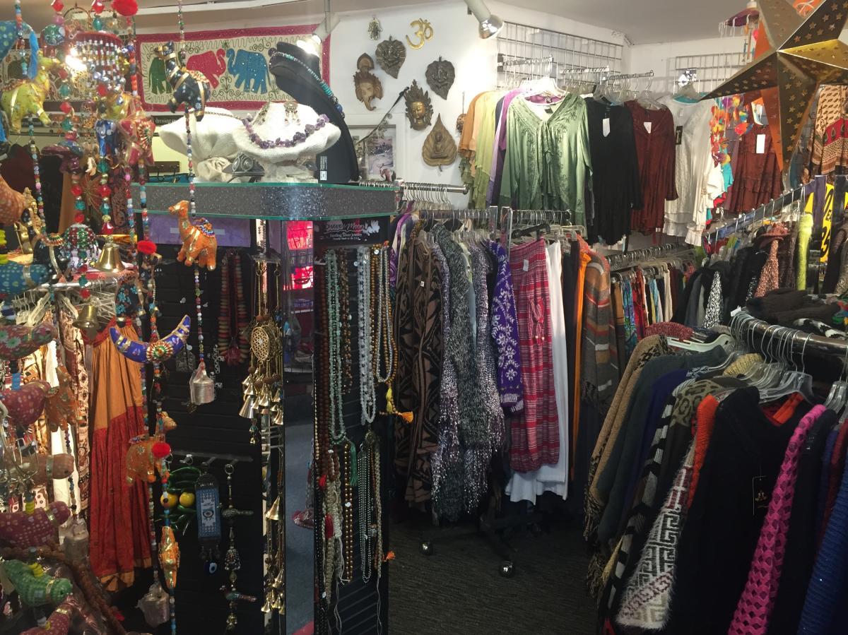 Interior of Shop of India