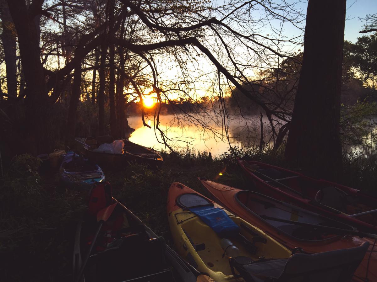Bayou Vermilion Excursion: Sunrise