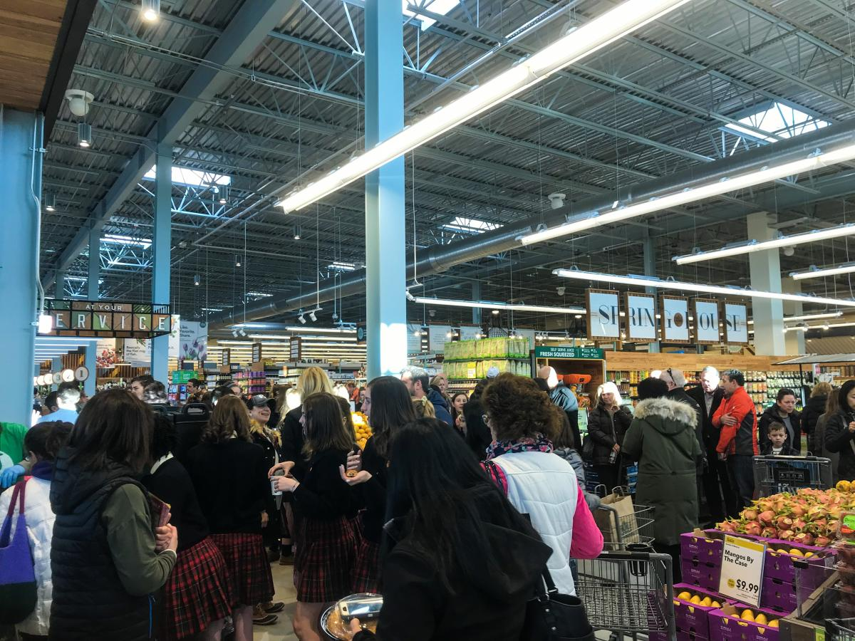 Whole Foods Spring House Crowd