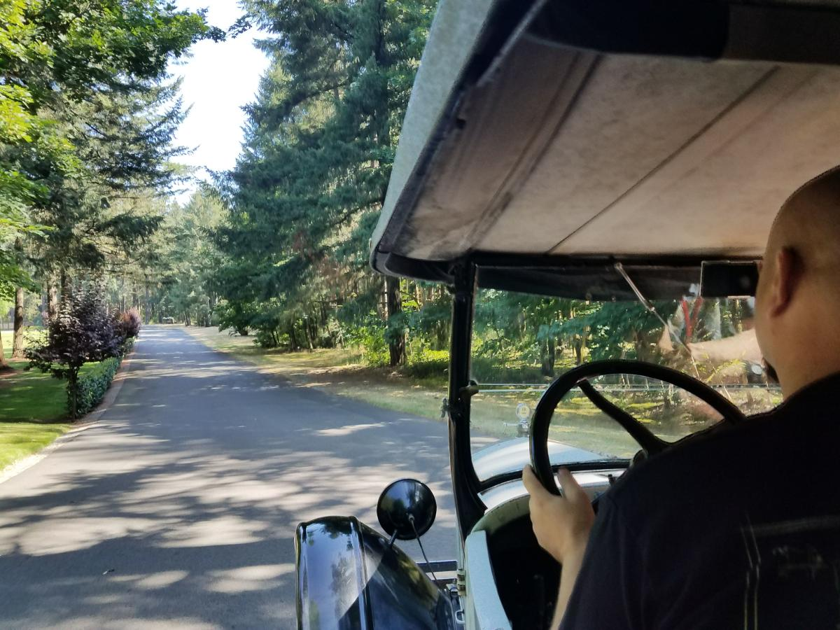 Model T Drivers Education Class in Spanaway at LeMay Collections at Marymount