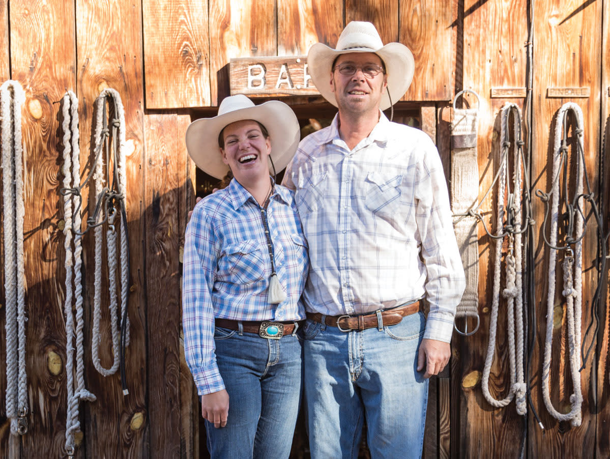 The Geronimo Trail Guest Ranch is owned by Meris and Seth Stout