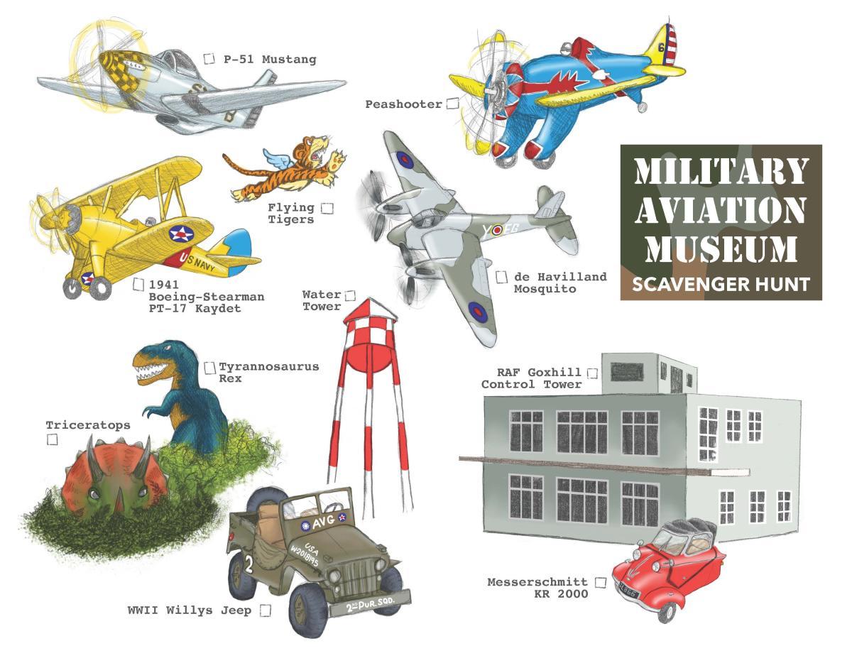 Military Aviation Museum Scavenger Hunt