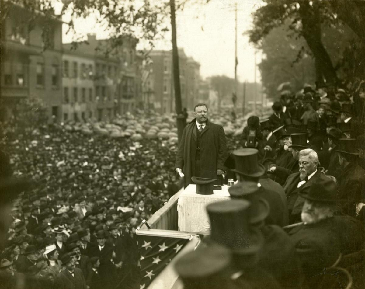 Theodore Roosevelt at PA Capitol Dedication
