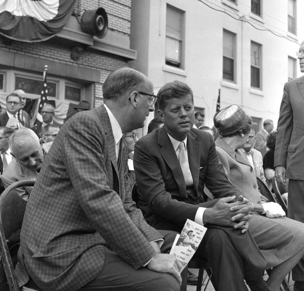 President Kennedy in Harrisburg