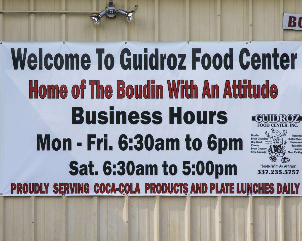 Guidroz Food Center