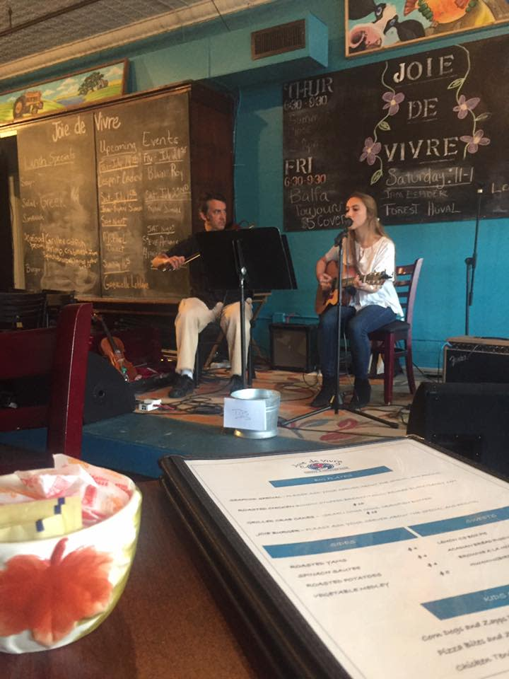Mitch & Renee Reed at Joie De Vivre Cafe