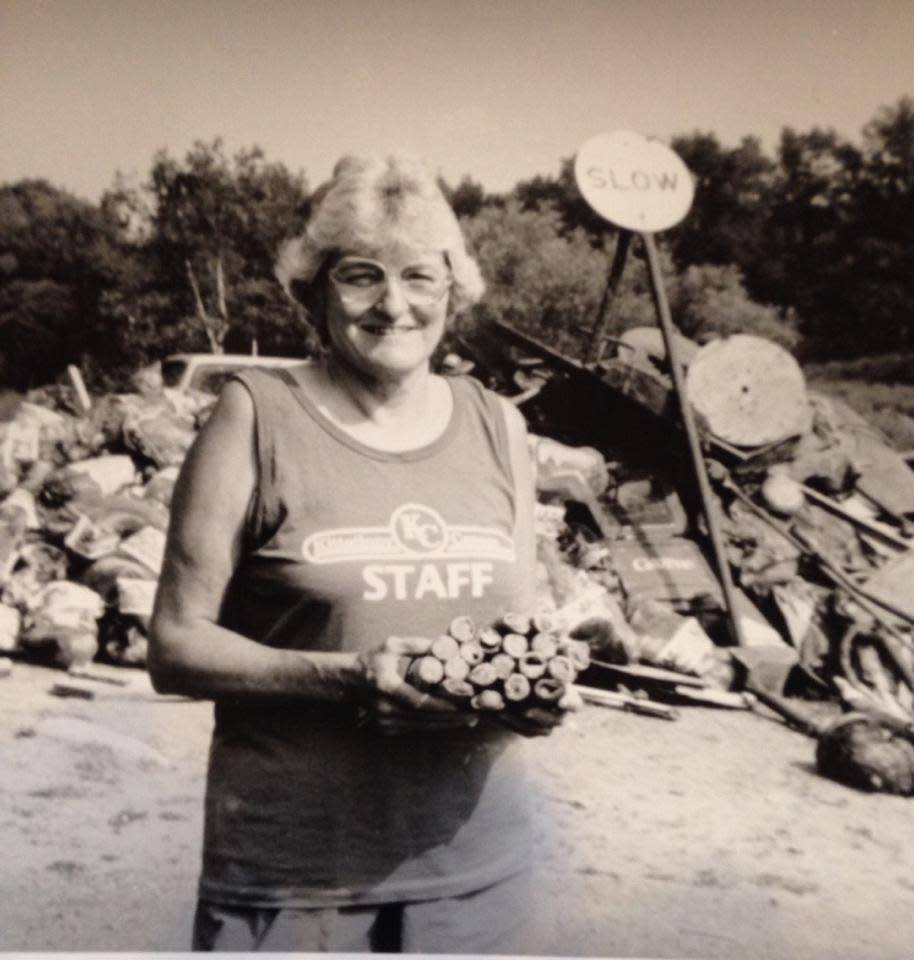 The Kittatinny River Cleanup Story by Ruth Jones