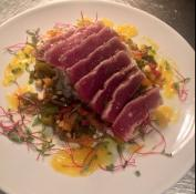 Seared Tuna at Fish Gaucho