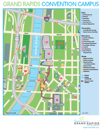 Downtown Grand Rapids Convention Campus Map