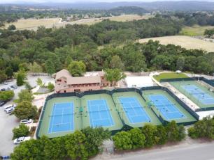 Tennis Courts at Temple Tennis Ranch