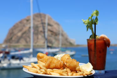 Fish and Chips on the bay
