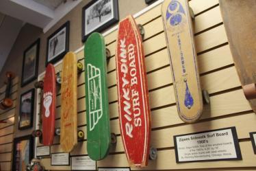 Skateboard Art Display