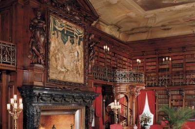 George Vanderbilt's Library at Biltmore
